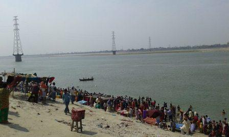Ganga Worship