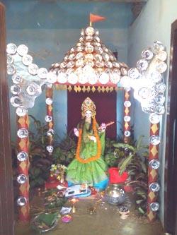 Sarasvati Puja in Mithila
