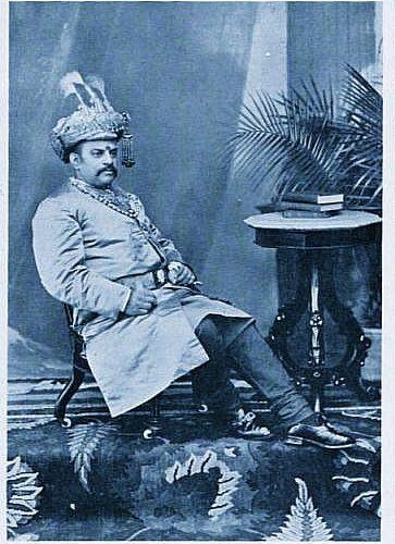 Kaisar-i-hind medal to  Maharaja Rameshwara Singh